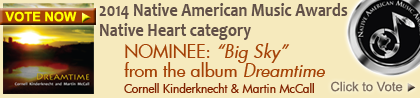 VOTE NOW: Big Sky from Dreamtime, Native American Music Award Nominee NAMMY