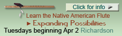 Expanding Possibilities, Native American flute class with Cornell Kinderknecht