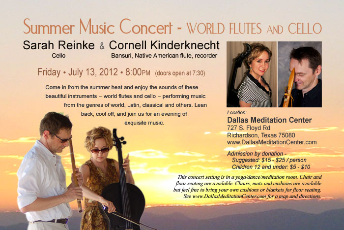 Cornell Kinderknecht and Sarah Reinke, July 13, 2012 - Richardson/Dallas, Texas