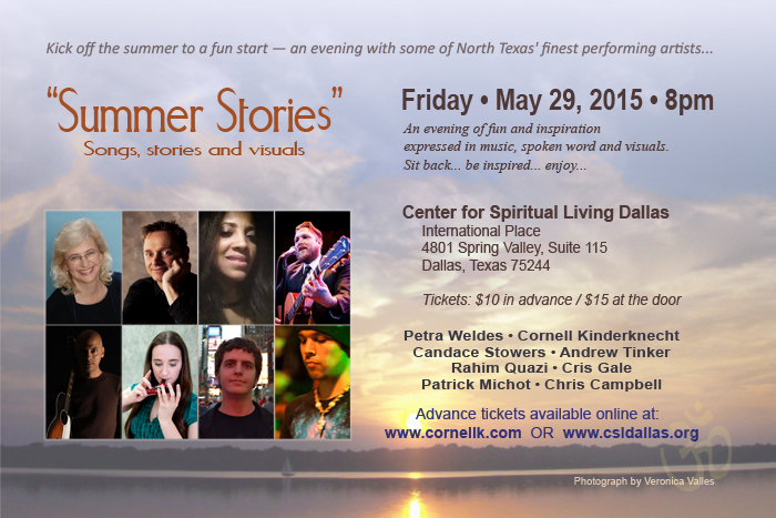 Summer Stories, May 29, 2015, Dallas, Texas