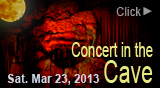 Concert in the Cave, Cornell and Jodi, March 23, 2013